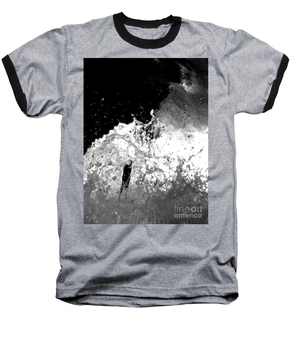 Water Baseball T-Shirt featuring the photograph Natural Power by Amanda Barcon