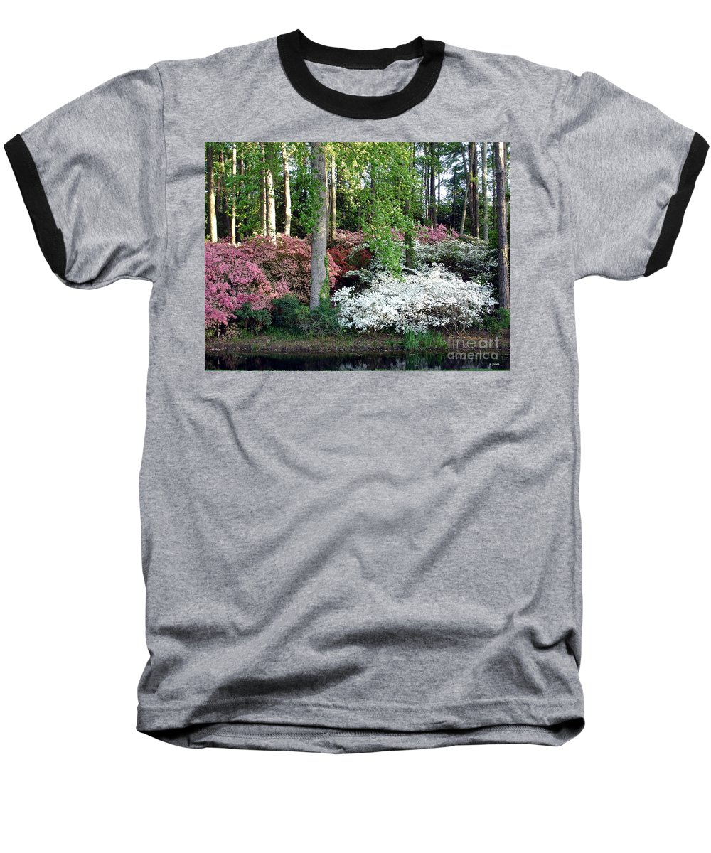 Landscape Baseball T-Shirt featuring the photograph Nature 2 by Shelley Jones