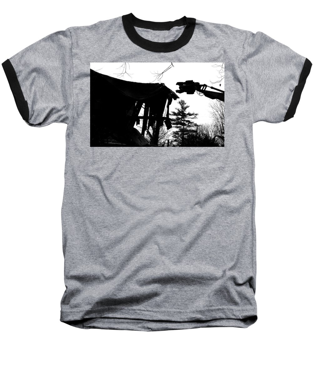 Machine Baseball T-Shirt featuring the photograph Nessie by Jean Macaluso