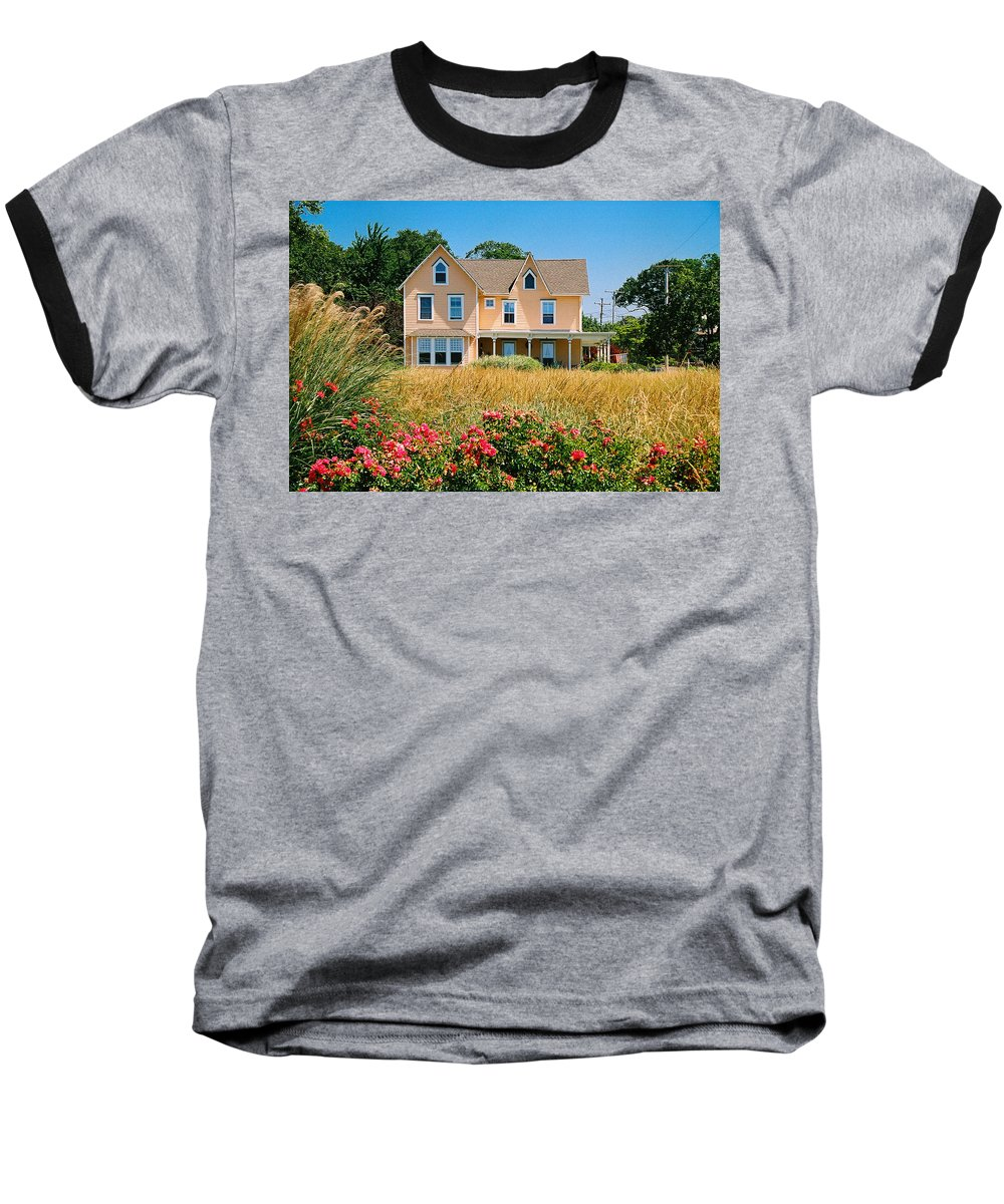 Landscape Baseball T-Shirt featuring the photograph New Jersey Landscape by Steve Karol