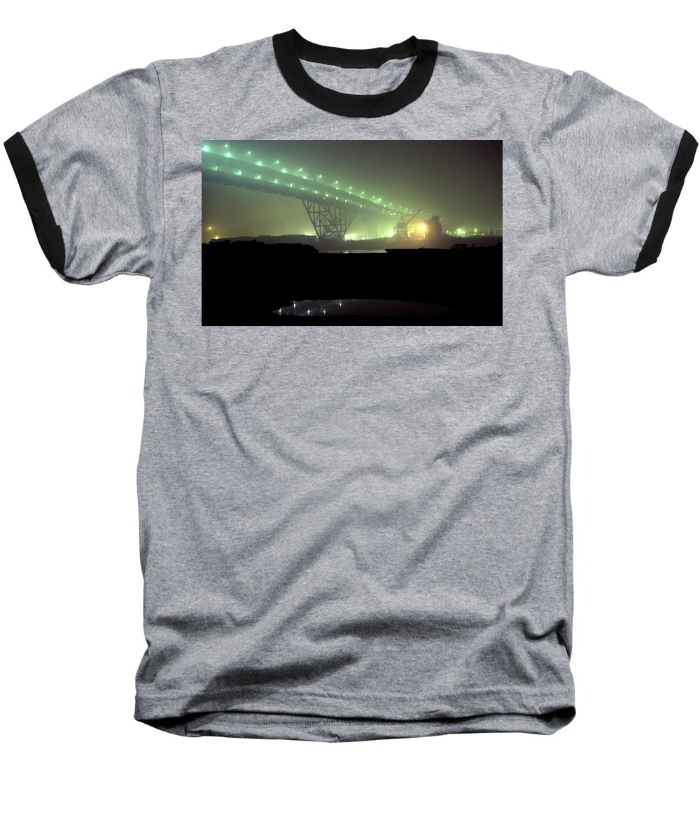 Night Photo Baseball T-Shirt featuring the photograph Nightscape 3 by Lee Santa