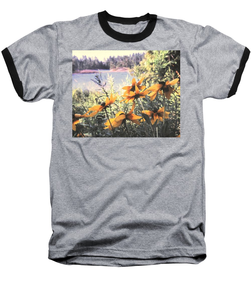 North Channel Baseball T-Shirt featuring the photograph North Channel Beauties by Ian MacDonald