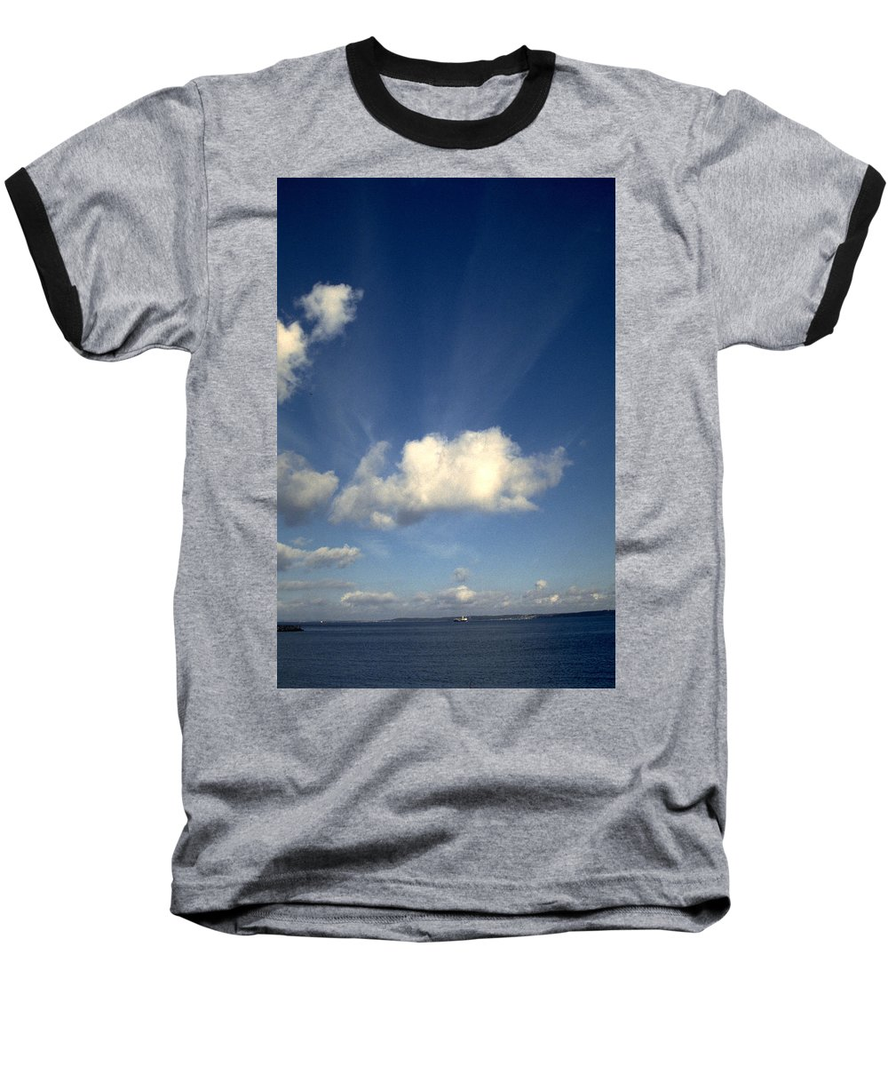 Northern Sky Baseball T-Shirt featuring the photograph Northern Sky by Flavia Westerwelle