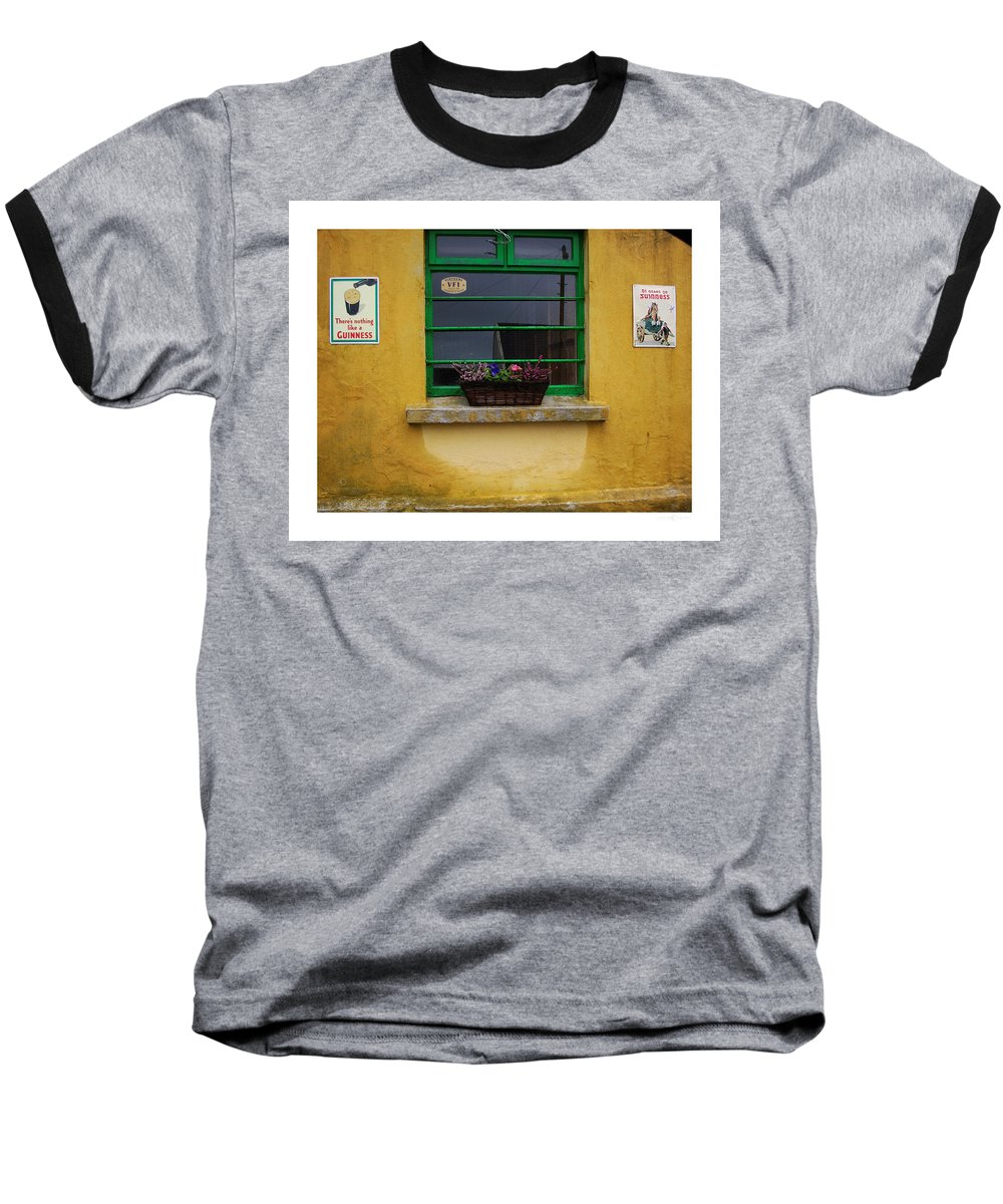 Ireland Baseball T-Shirt featuring the photograph Nothing Like A Guinness by Tim Nyberg