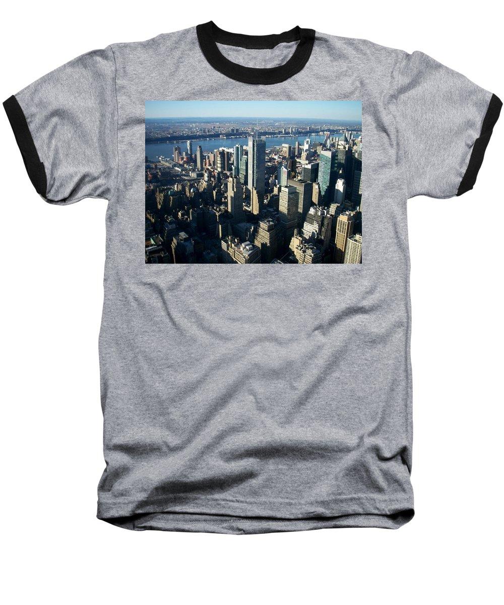 Nyc Baseball T-Shirt featuring the photograph Nyc 1 by Anita Burgermeister