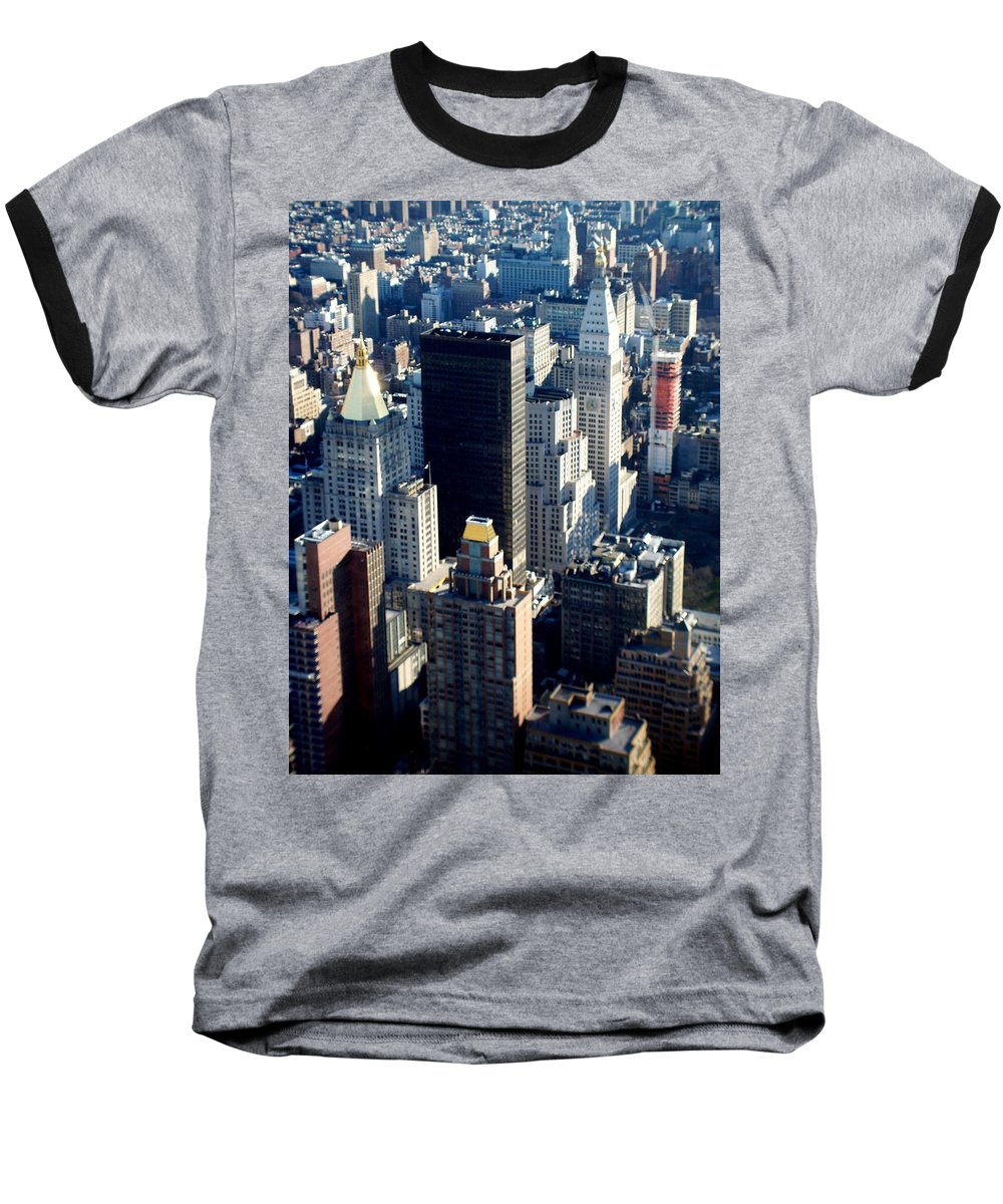 Nyc Baseball T-Shirt featuring the photograph Nyc 2 by Anita Burgermeister