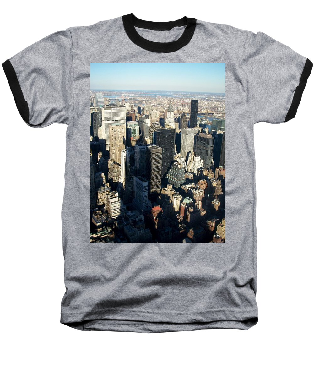 Nyc Baseball T-Shirt featuring the photograph Nyc 3 by Anita Burgermeister