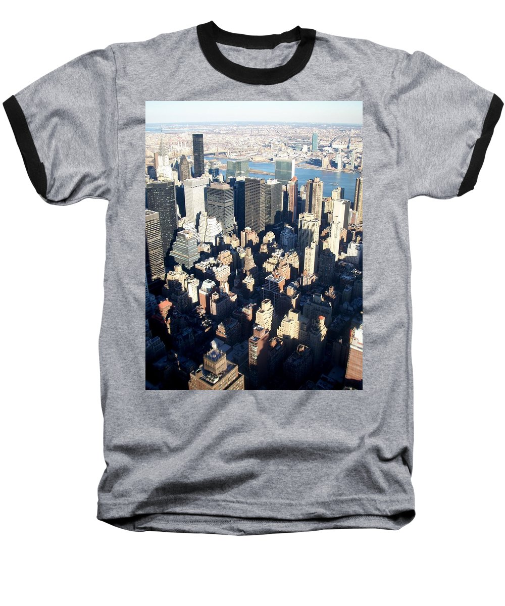 Nyc Baseball T-Shirt featuring the photograph Nyc 4 by Anita Burgermeister