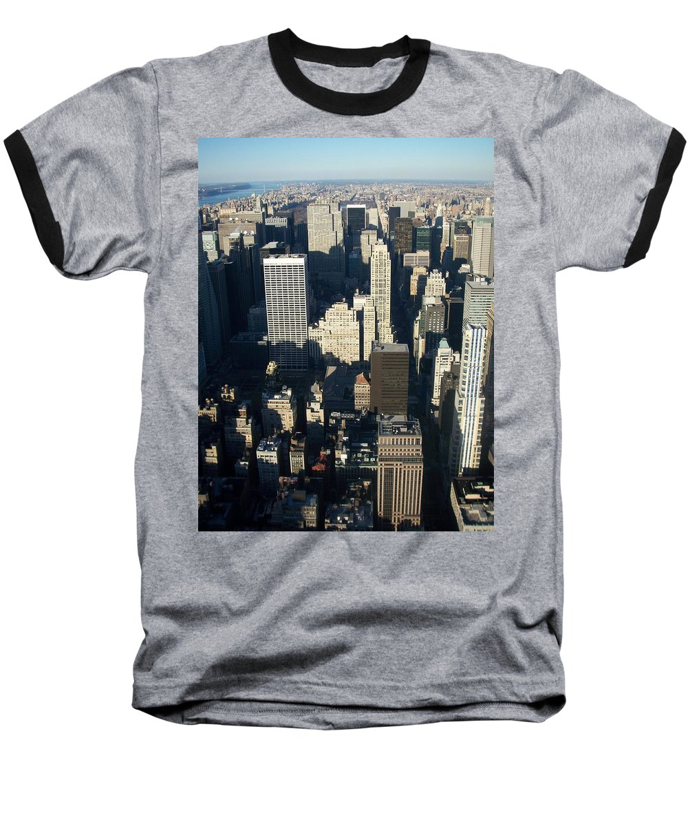 Nyc Baseball T-Shirt featuring the photograph Nyc 5 by Anita Burgermeister
