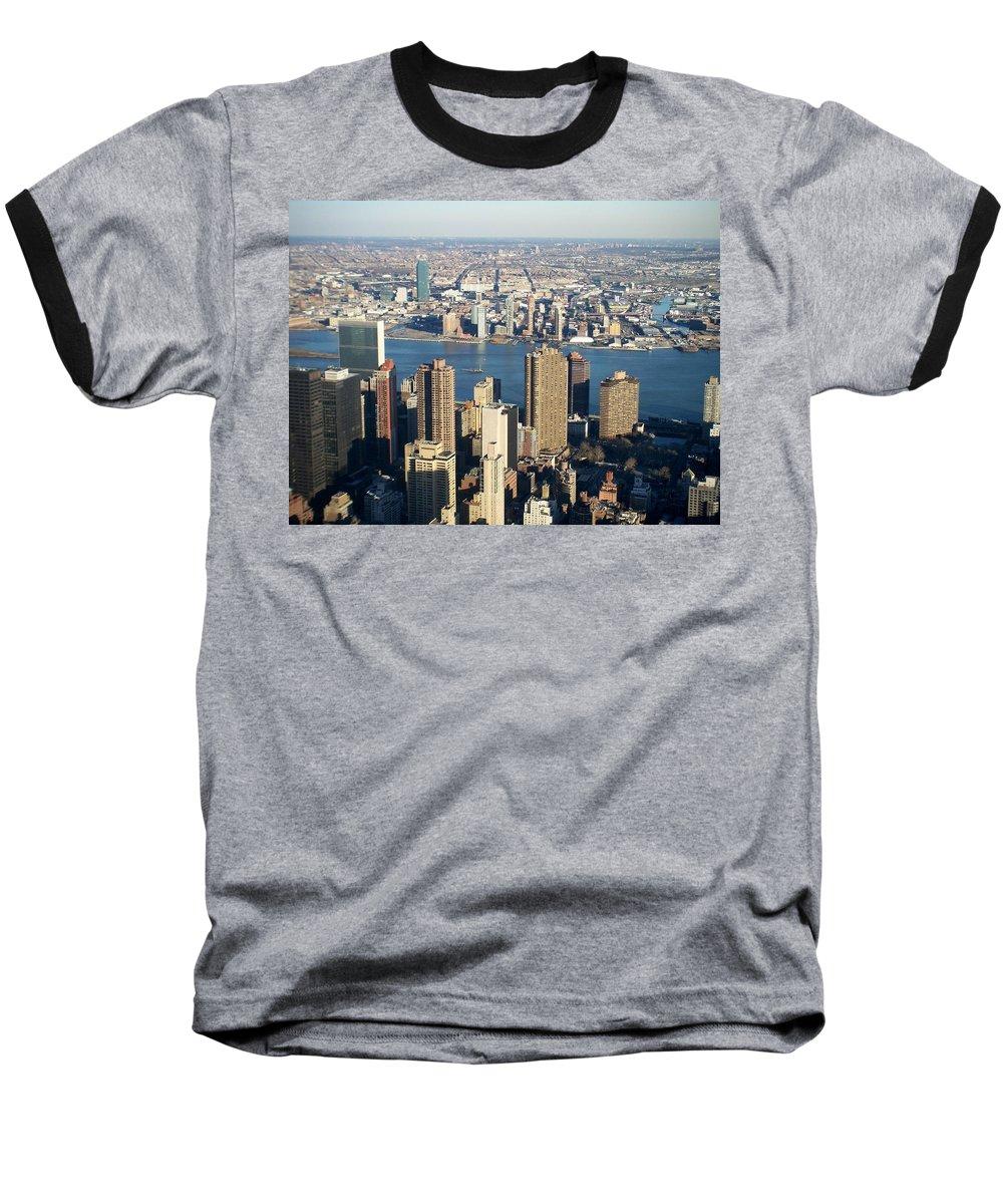 Nyc Baseball T-Shirt featuring the photograph Nyc 6 by Anita Burgermeister