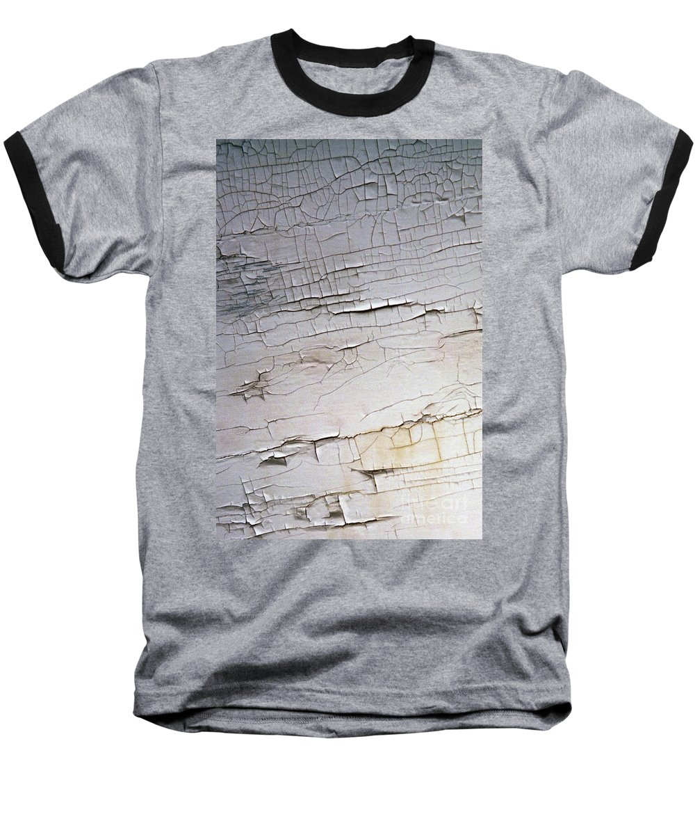 Paint Baseball T-Shirt featuring the photograph Old Siding by Richard Rizzo