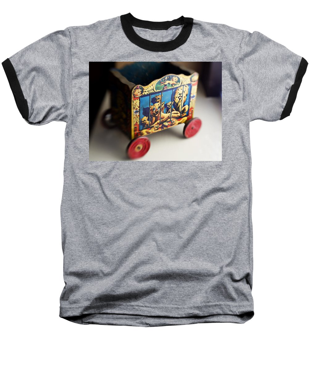 Americana Baseball T-Shirt featuring the photograph Old Toy by Marilyn Hunt