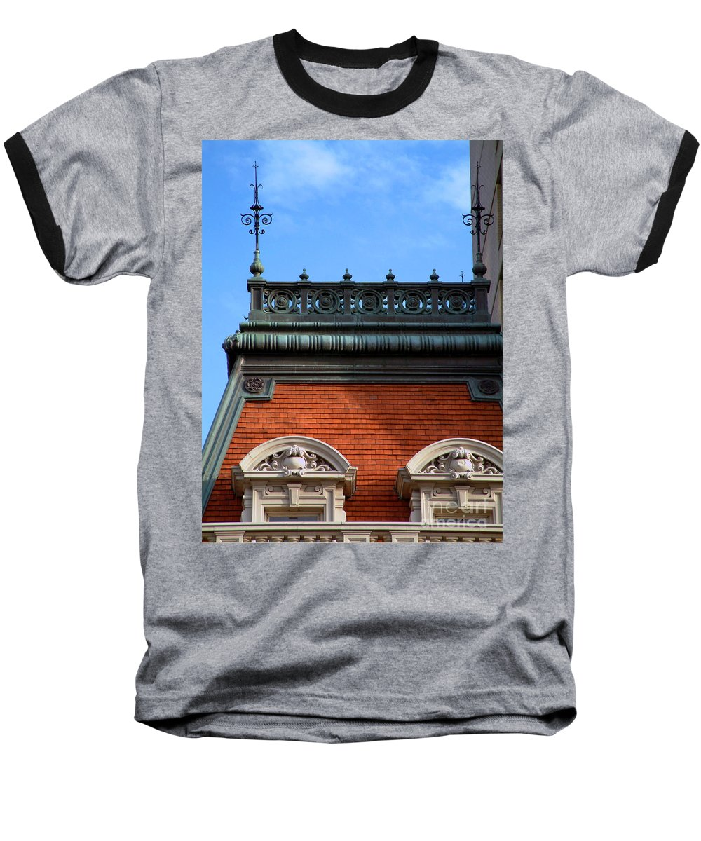Apartment Baseball T-Shirt featuring the photograph On A Clear Day by RC DeWinter