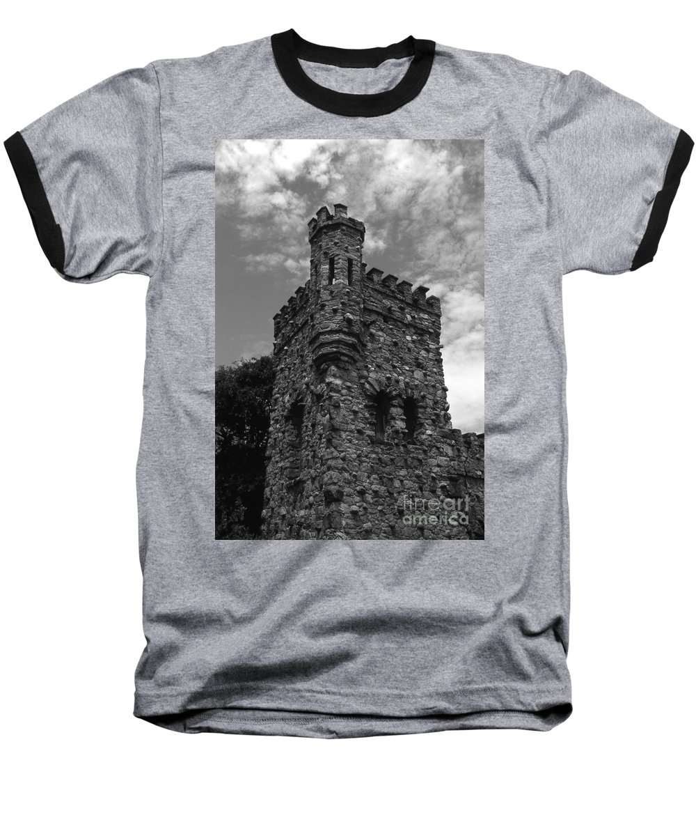 Castle Baseball T-Shirt featuring the photograph Once Upon A Time by Richard Rizzo