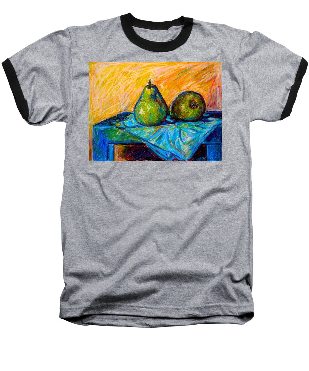 Still Life Baseball T-Shirt featuring the painting Other Pears by Kendall Kessler