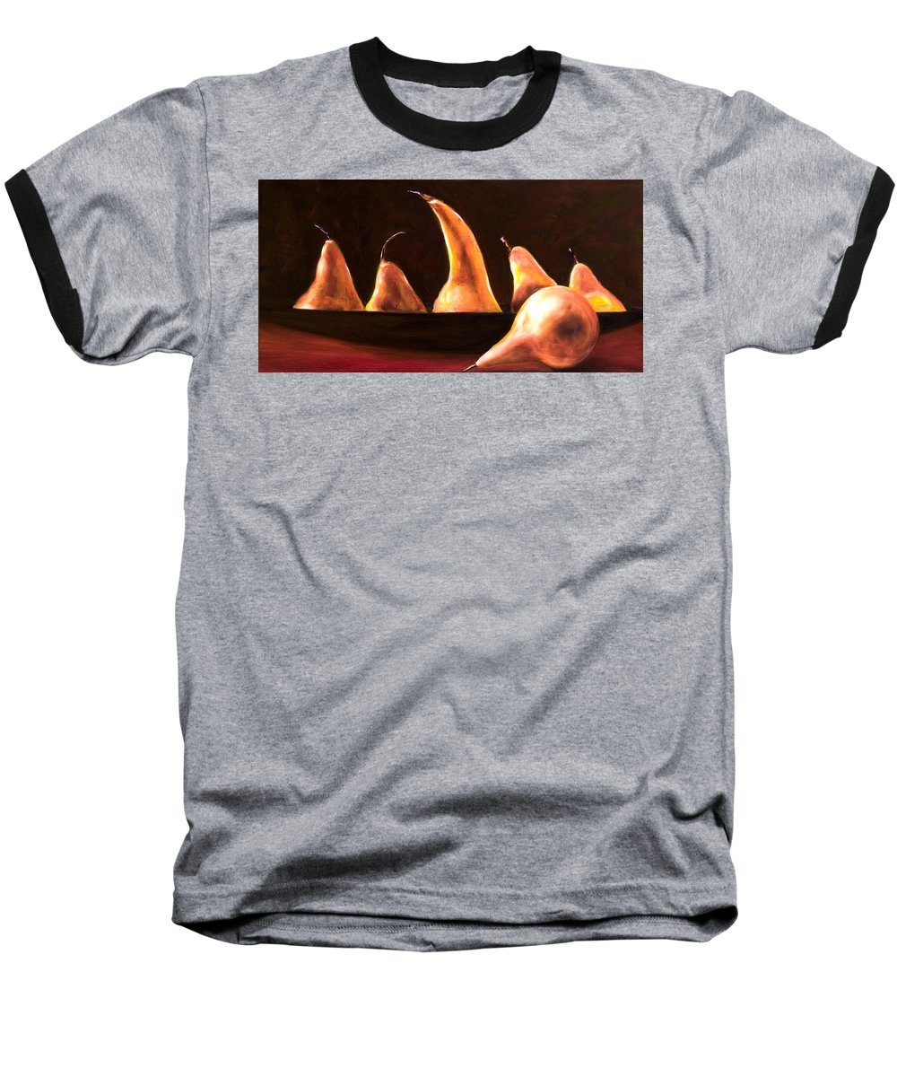 Still Life Baseball T-Shirt featuring the painting Overboard by Shannon Grissom