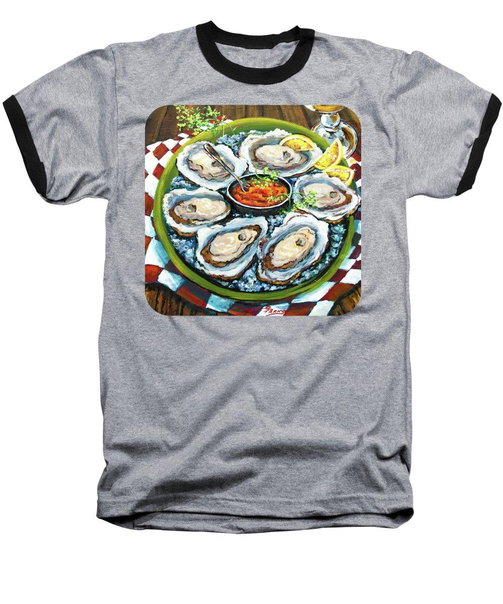 Food And Beverage Baseball T-Shirts