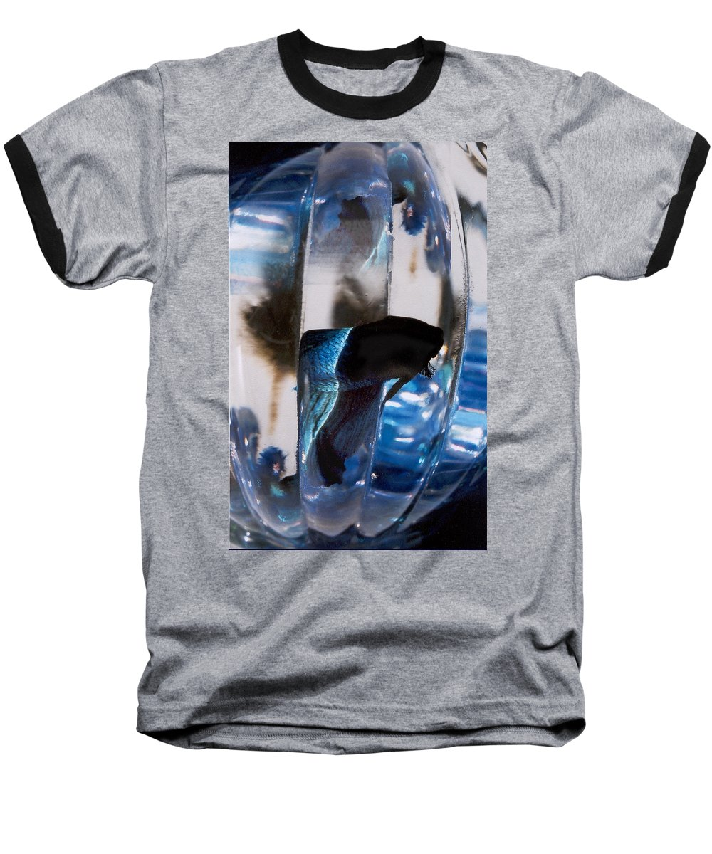 Abstract Baseball T-Shirt featuring the photograph panel three from Swirl by Steve Karol