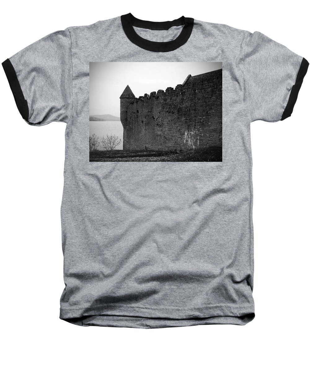 Ireland Baseball T-Shirt featuring the photograph Parkes Castle County Leitrim Ireland by Teresa Mucha