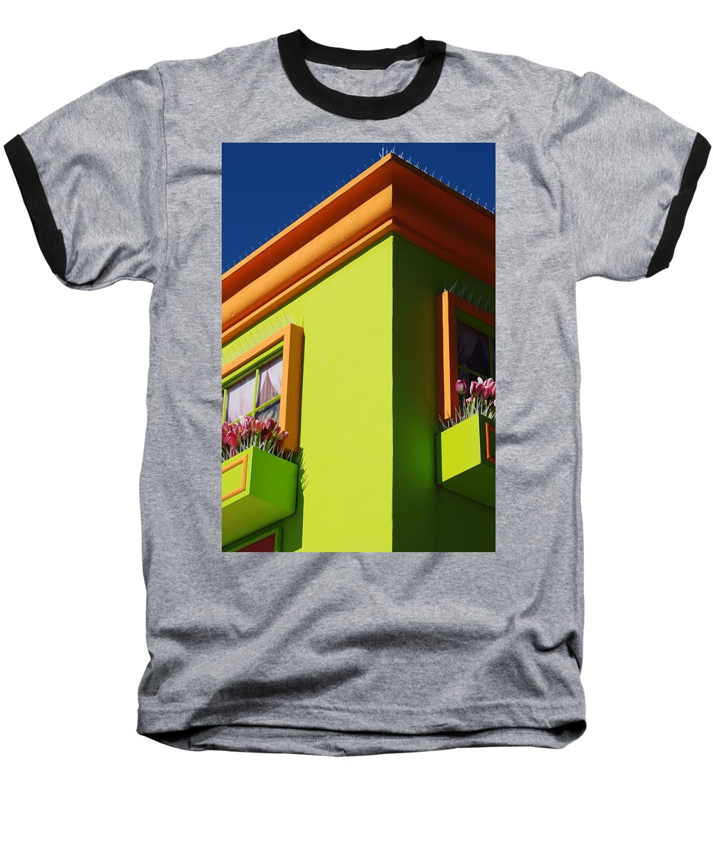 Sky Baseball T-Shirt featuring the photograph Pastle Corners by Rob Hans