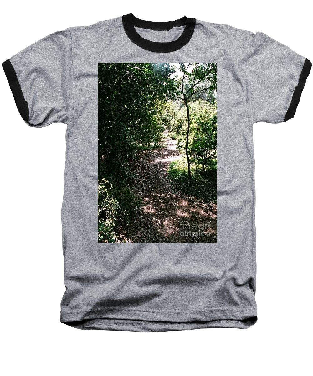 Path Baseball T-Shirt featuring the photograph Path by Dean Triolo