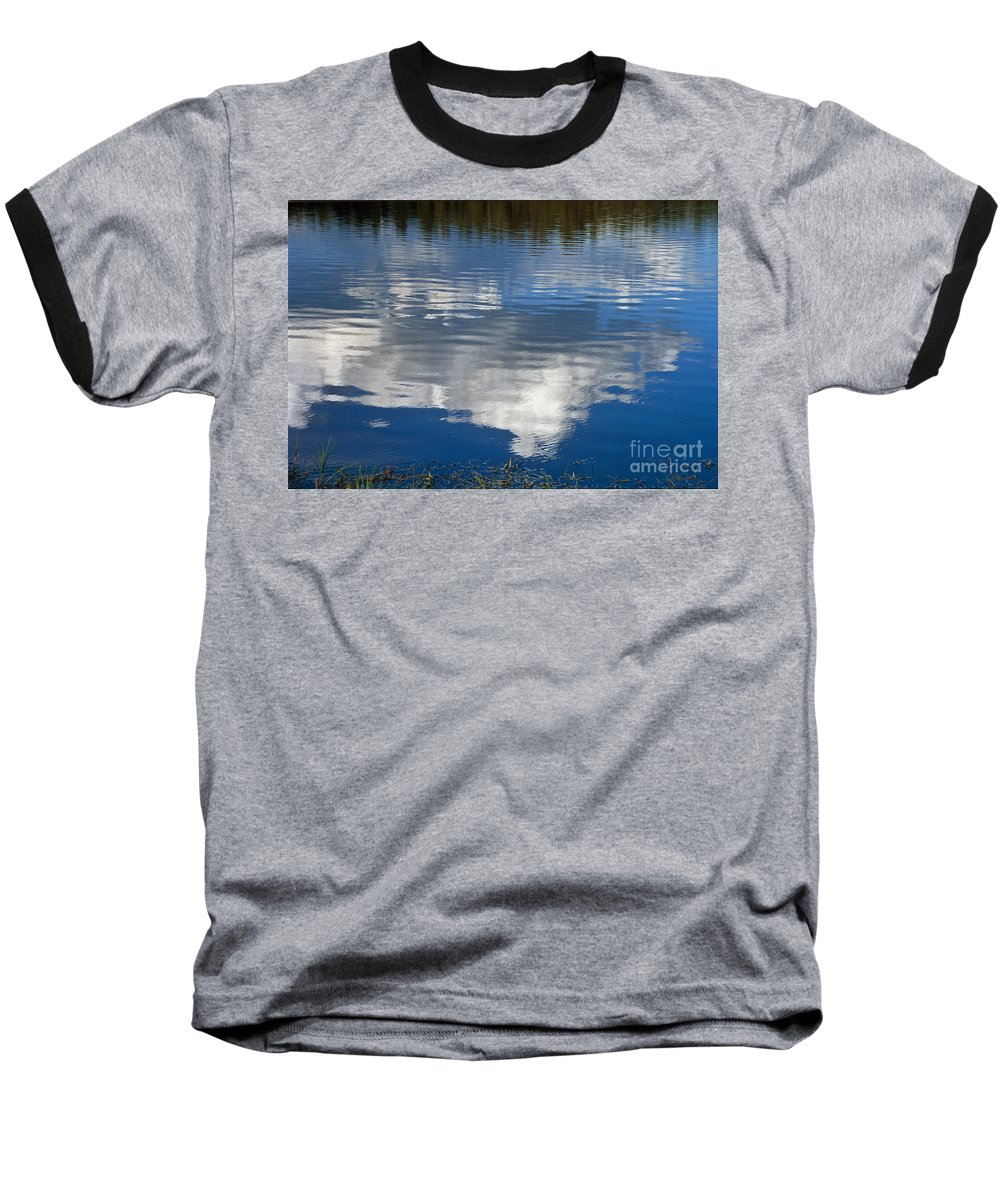 Landscape Baseball T-Shirt featuring the photograph Peace by Kathy McClure