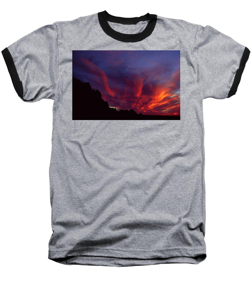 Arizona Baseball T-Shirt featuring the photograph Phoenix Risen by Randy Oberg