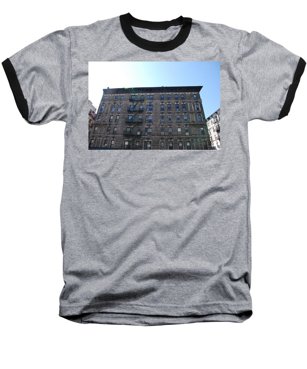 Architecture Baseball T-Shirt featuring the photograph Physical Graffitti by Rob Hans