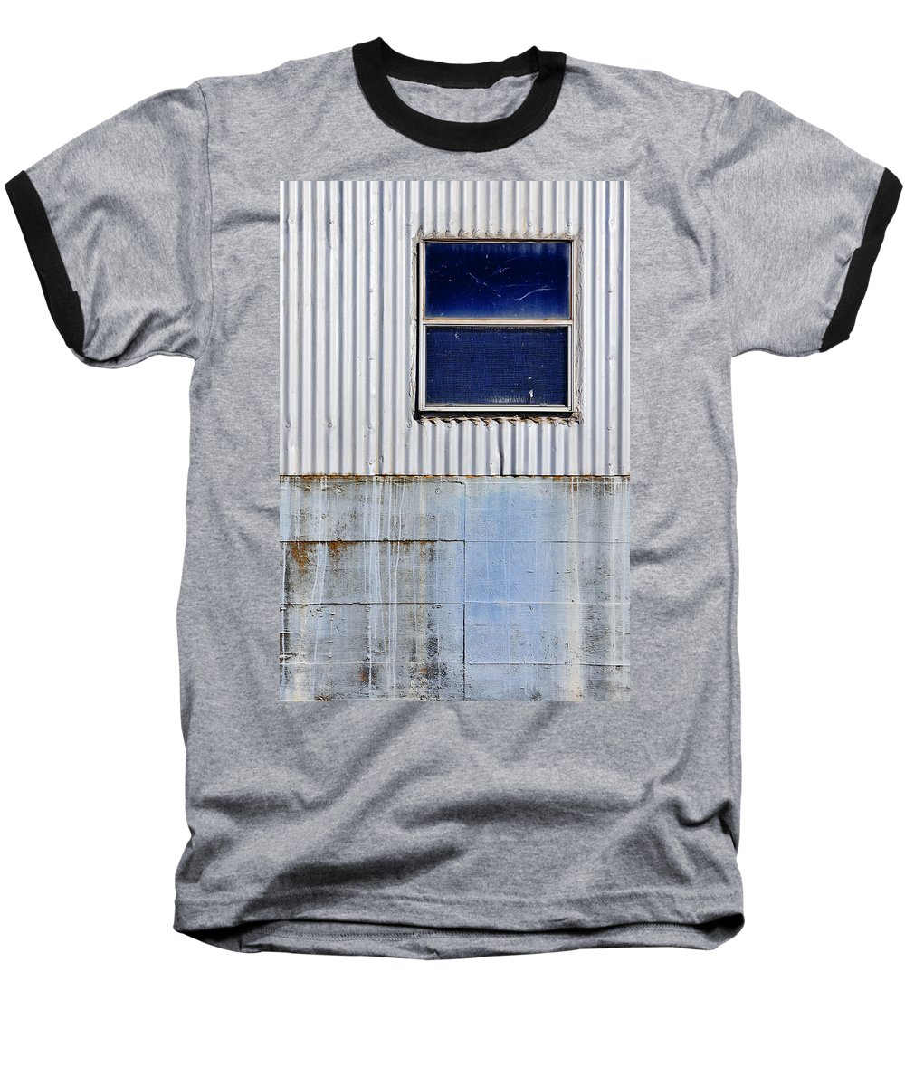Skip Hunt Baseball T-Shirt featuring the photograph Powder Blu by Skip Hunt