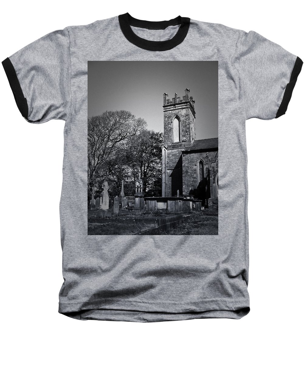 Irish Baseball T-Shirt featuring the photograph Protestant Church Macroom Ireland by Teresa Mucha