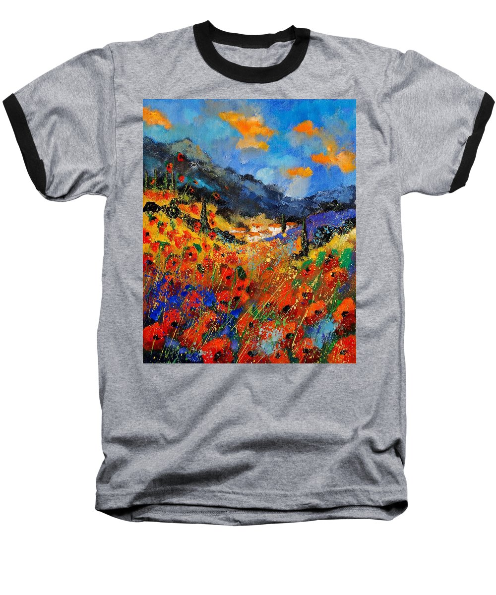 Baseball T-Shirt featuring the painting Provence 459020 by Pol Ledent