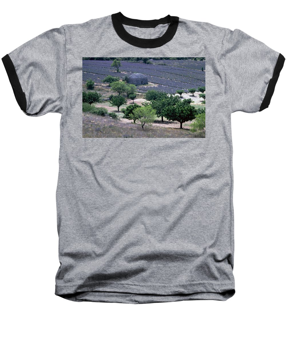 Provence Baseball T-Shirt featuring the photograph Provence by Flavia Westerwelle