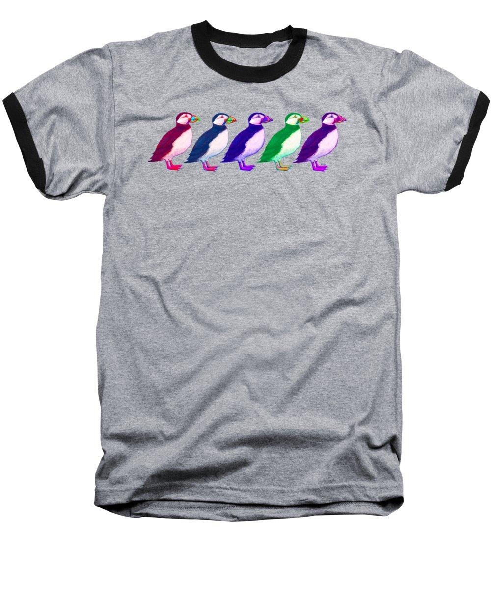 Puffin Baseball T-Shirts