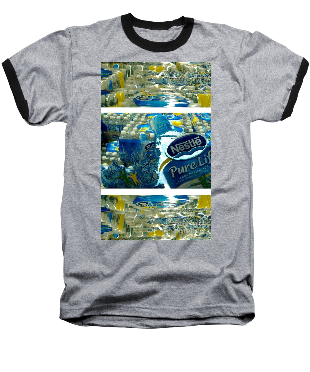 Water Baseball T-Shirt featuring the photograph Pure Life by Ze DaLuz