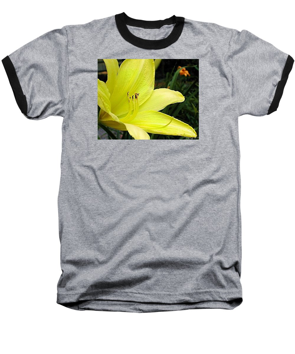 Fine Art Photography Baseball T-Shirt featuring the photograph Pure Sunshine by Patricia Griffin Brett