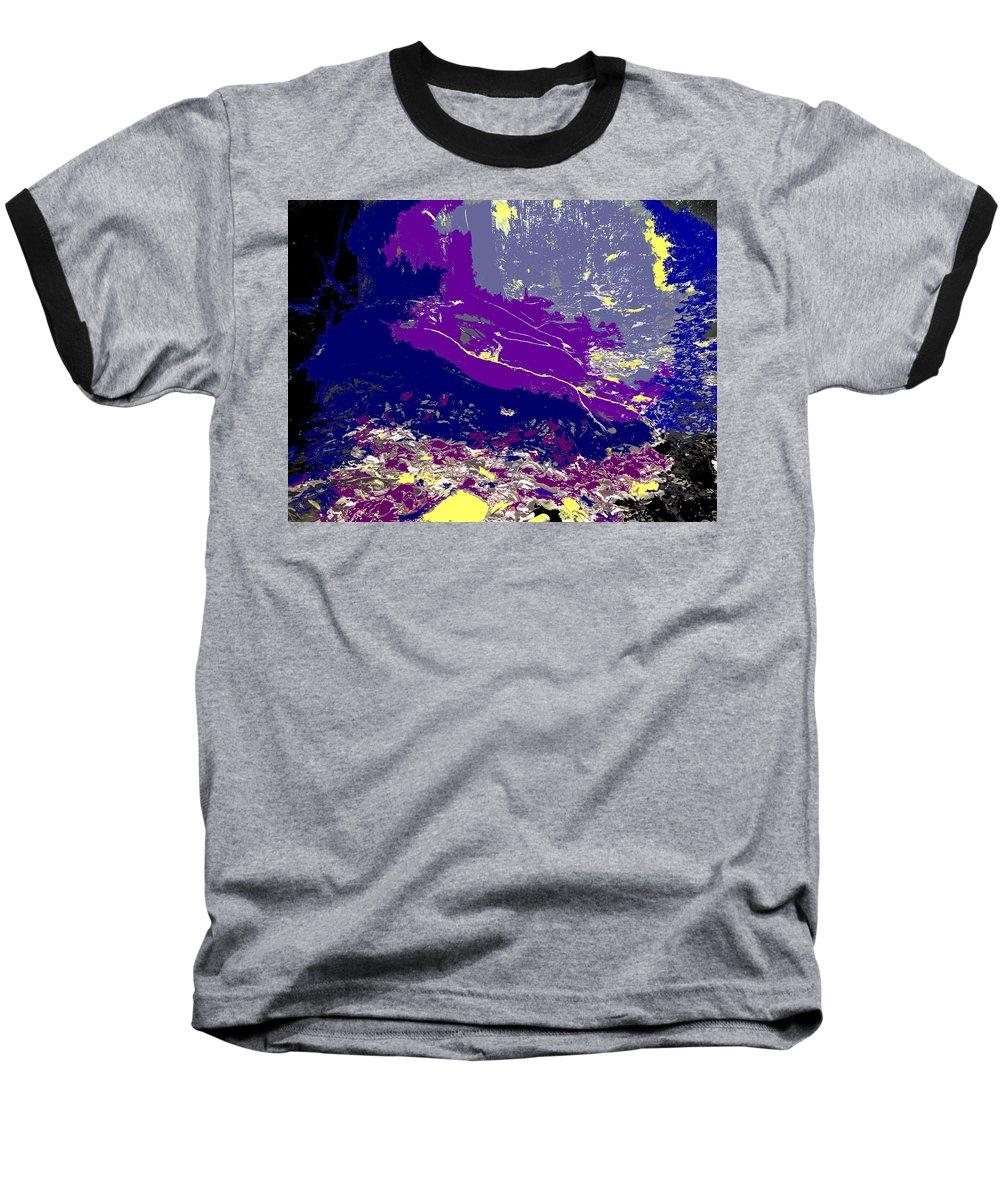 Rainforest Baseball T-Shirt featuring the photograph Rainforest Shadows by Ian MacDonald