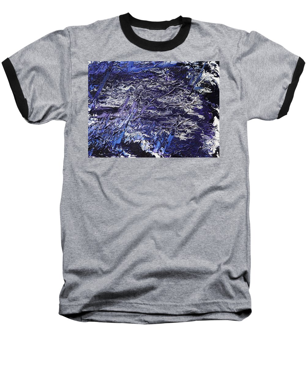 Fusionart Baseball T-Shirt featuring the painting Rapid by Ralph White