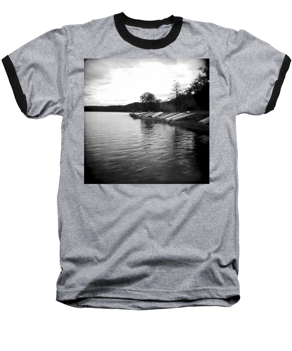 Photograph Baseball T-Shirt featuring the photograph Ready And Waiting by Jean Macaluso