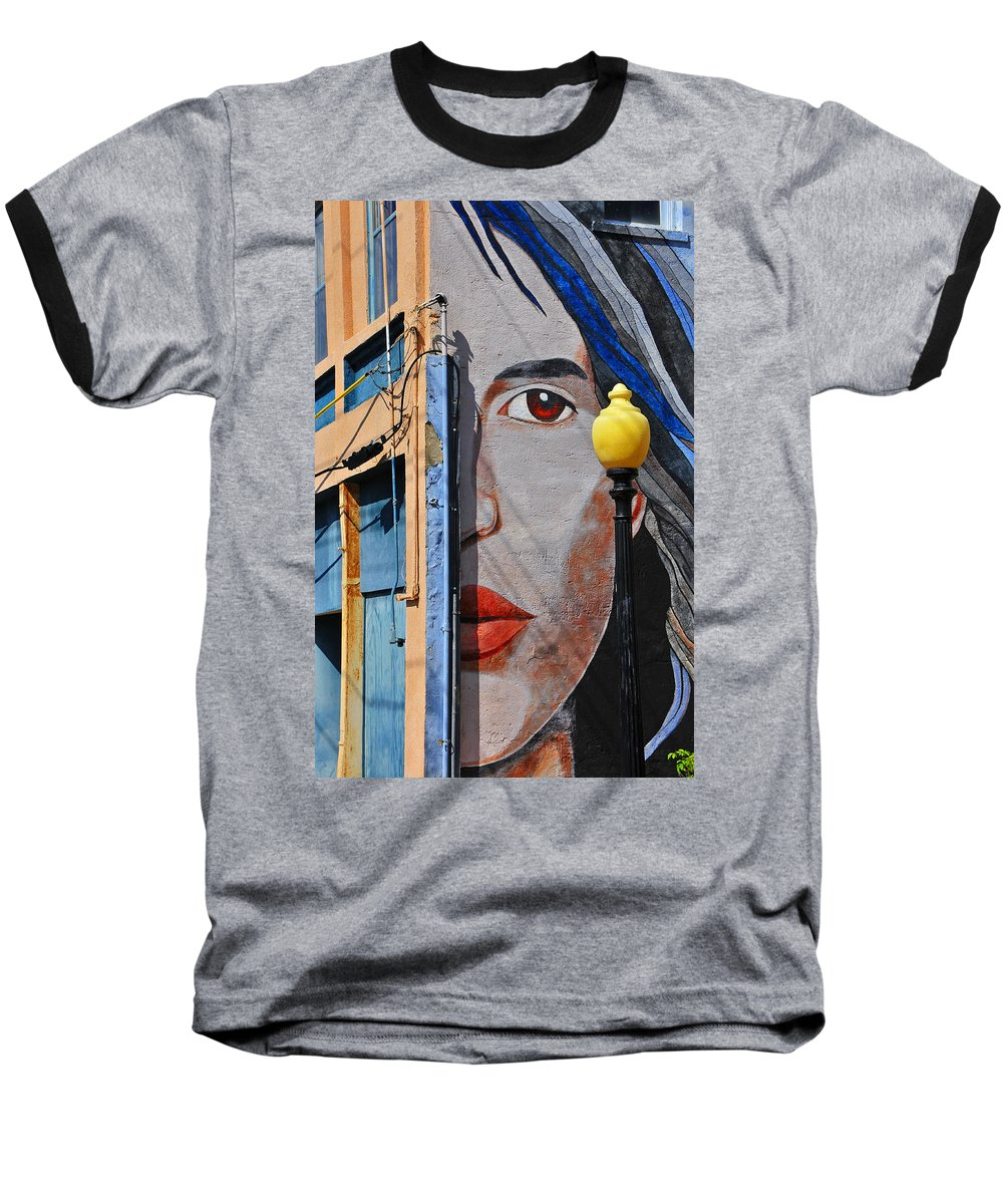 Skip Hunt Baseball T-Shirt featuring the photograph Redeye by Skip Hunt