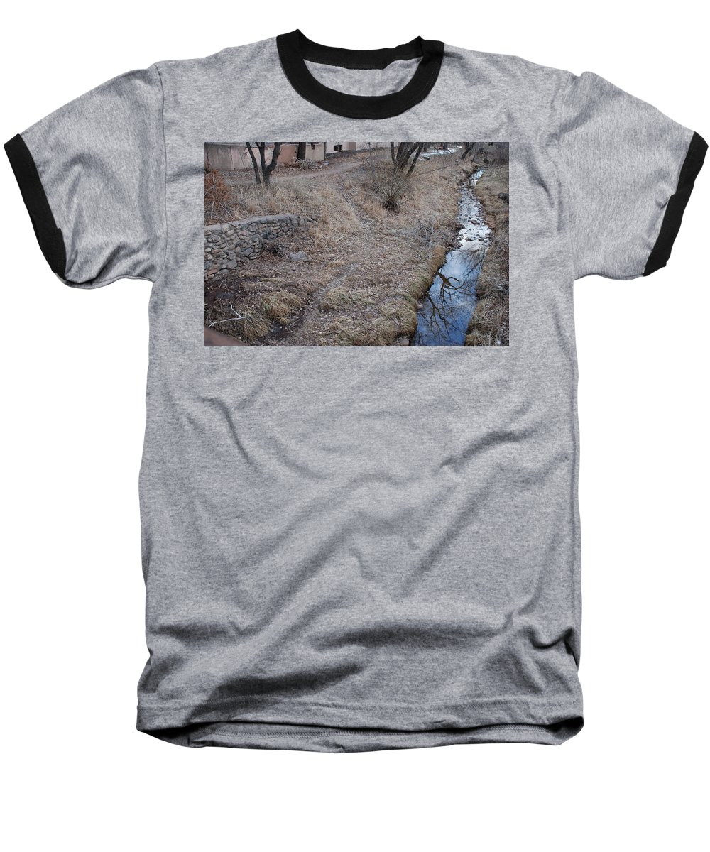 Water Baseball T-Shirt featuring the photograph Reflections In The River by Rob Hans