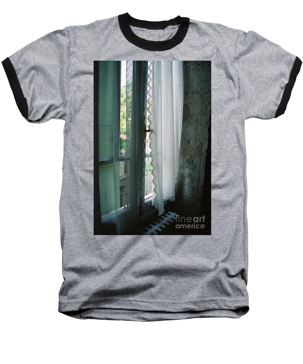 Arles Baseball T-Shirt featuring the photograph Rest by Nadine Rippelmeyer
