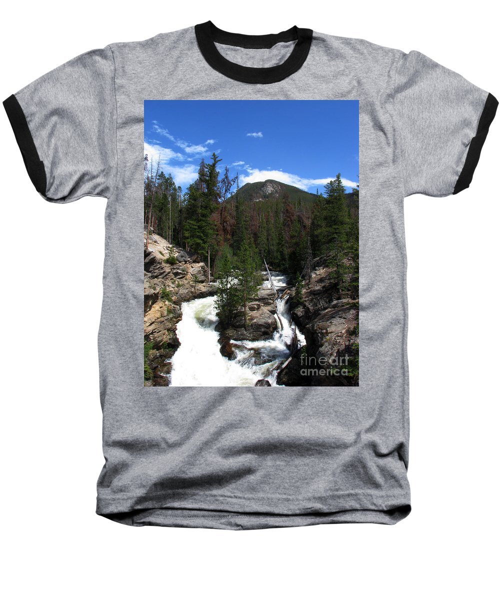 Colorado Baseball T-Shirt featuring the photograph Roar by Amanda Barcon