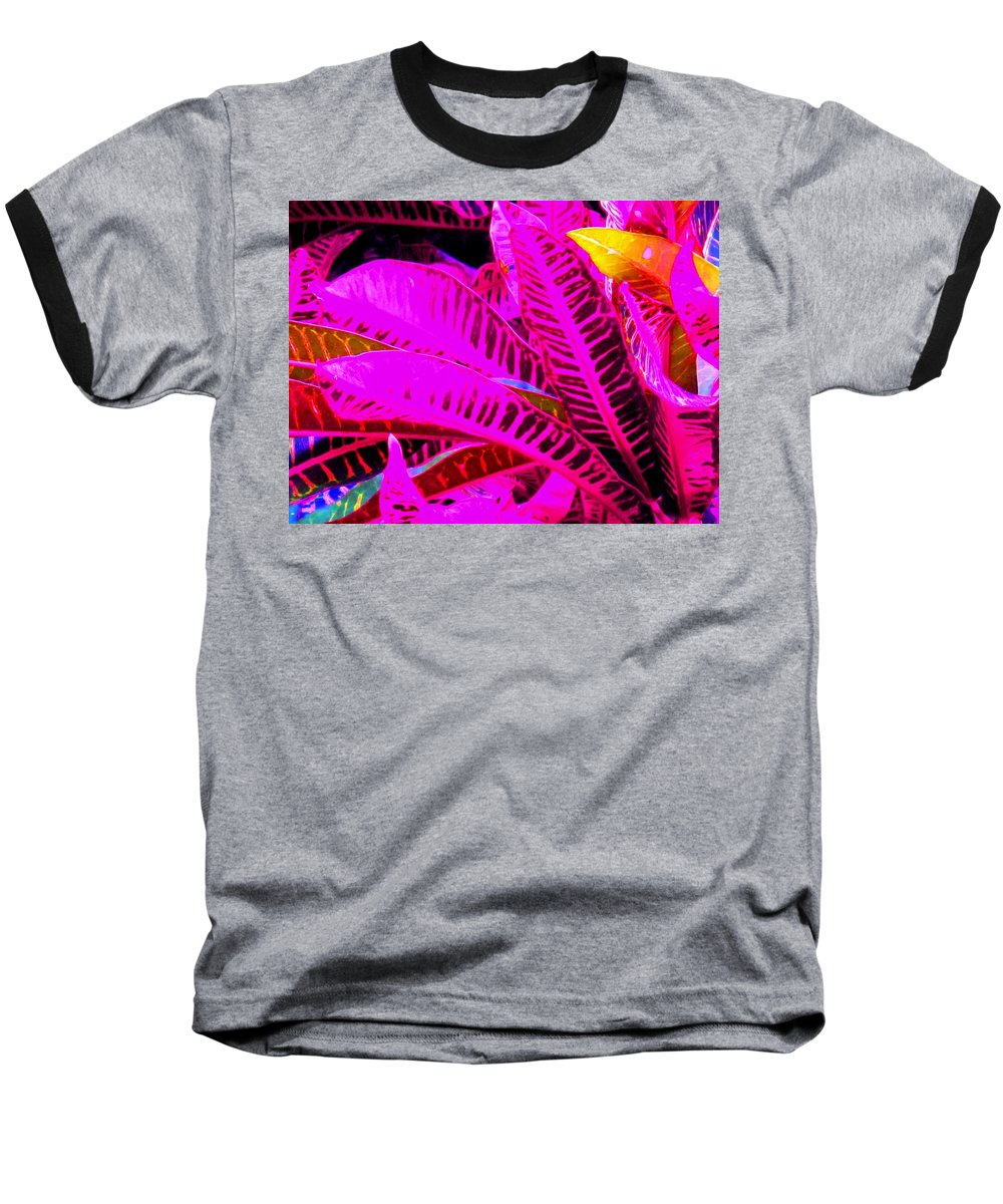 Pink Baseball T-Shirt featuring the photograph Romney Pink by Ian MacDonald