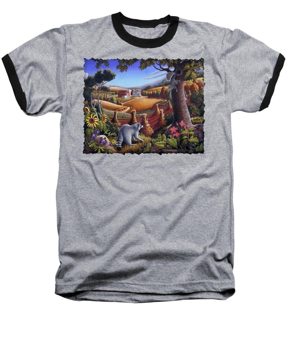 Squirrel Baseball T-Shirts