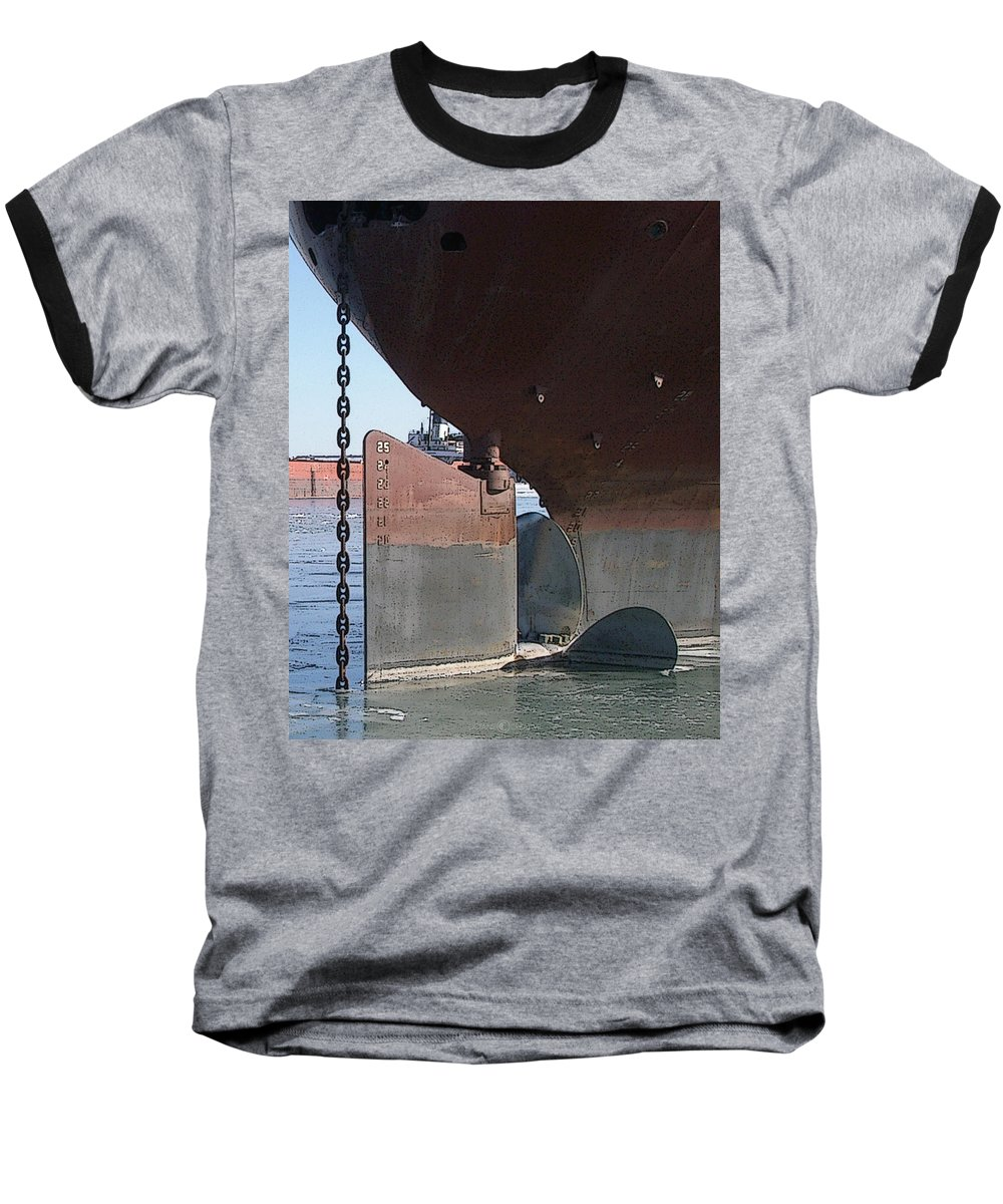 Prop Baseball T-Shirt featuring the photograph Ryerson Prop by Tim Nyberg