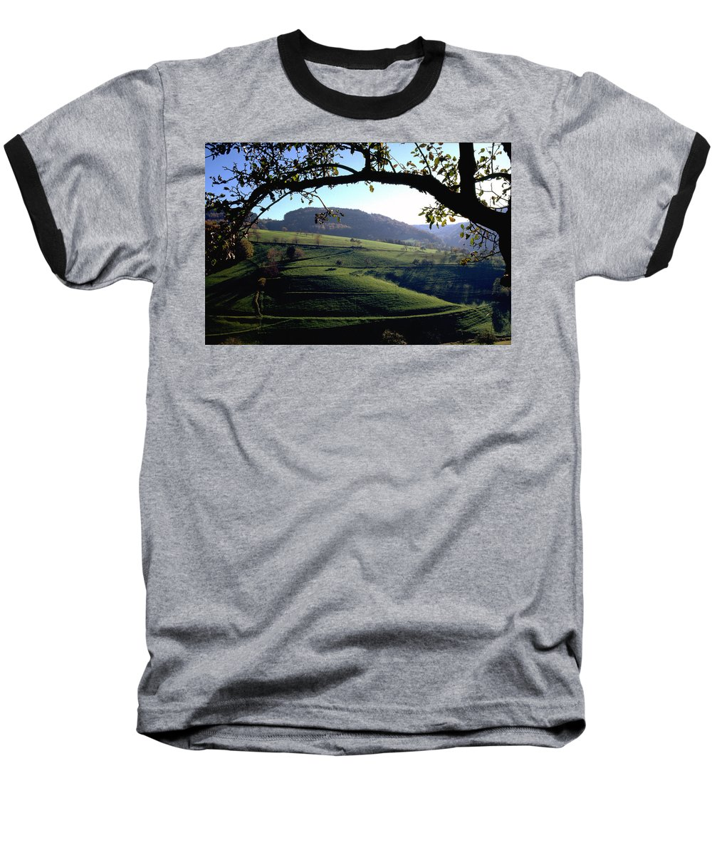Schwarzwald Baseball T-Shirt featuring the photograph Schwarzwald by Flavia Westerwelle