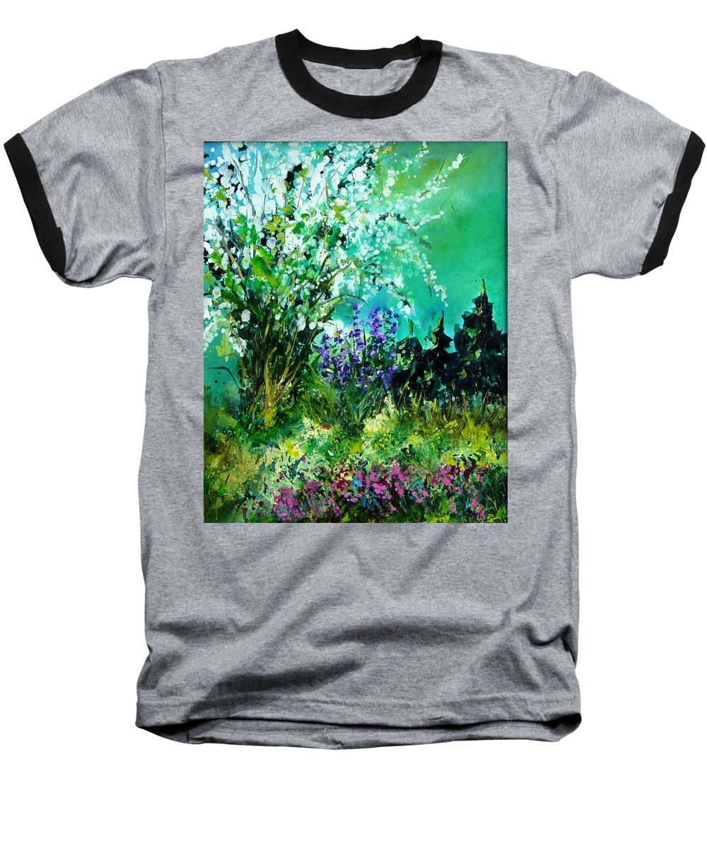 Tree Baseball T-Shirt featuring the painting Seringa by Pol Ledent