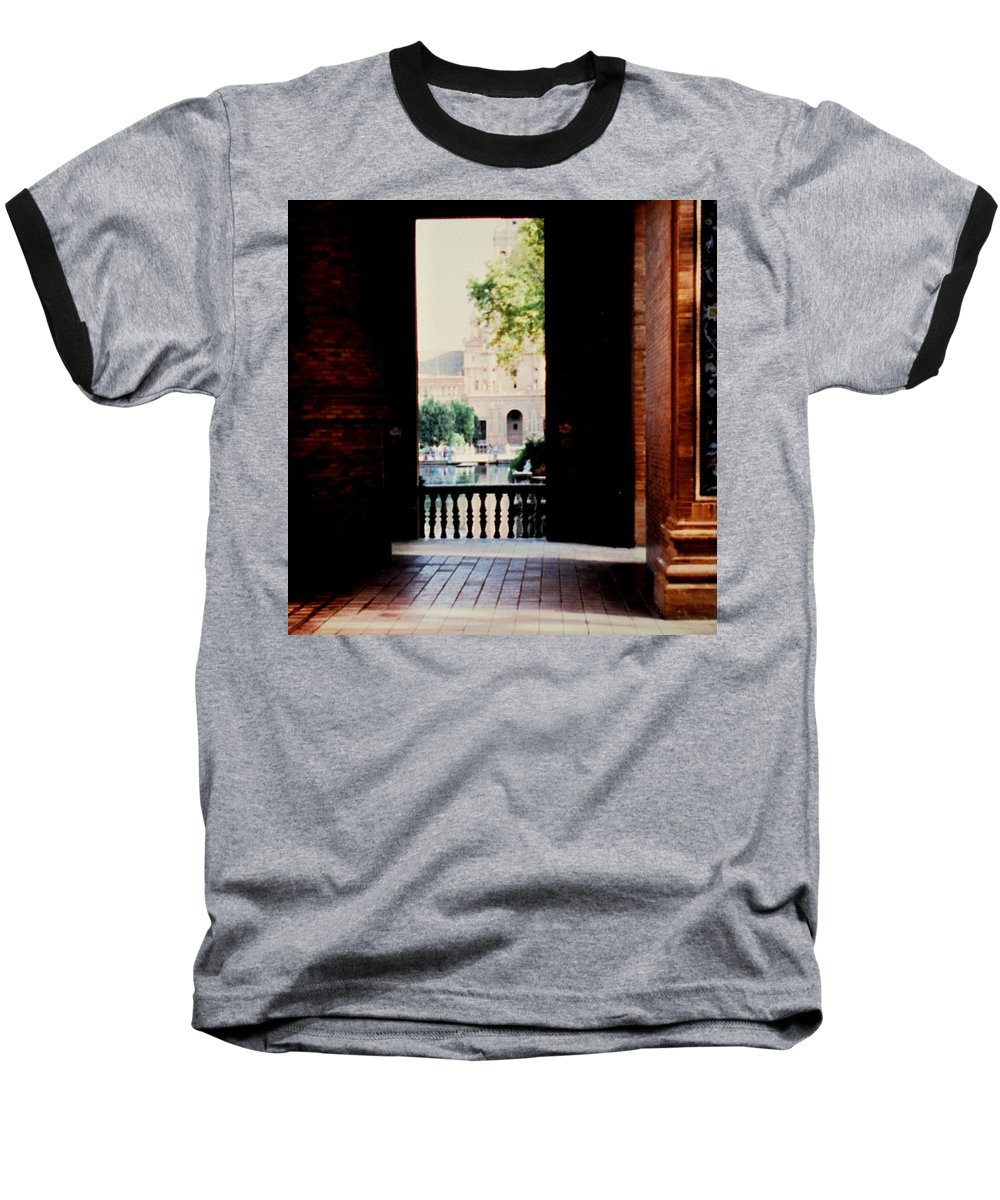 Seville Baseball T-Shirt featuring the photograph Seville by Ian MacDonald