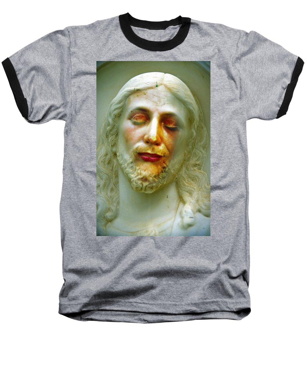 Jesus Baseball T-Shirt featuring the photograph Shesus by Skip Hunt