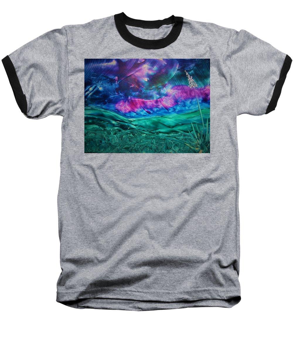 Desert Baseball T-Shirt featuring the print Sierra Vista by Melinda Etzold